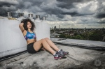 London sportswear shoot