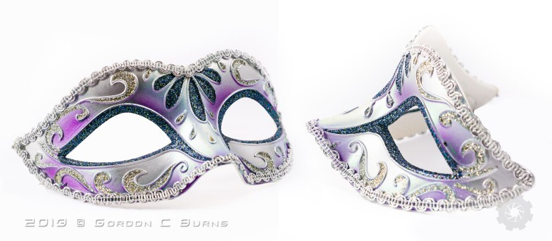 Mask without lace GCB product purple