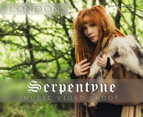 serpentyne music video productio